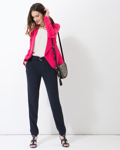 Maite fuchsia jacket with studs (1) - 1-2-3