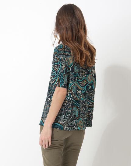 Ebene printed blouse (4) - 1-2-3