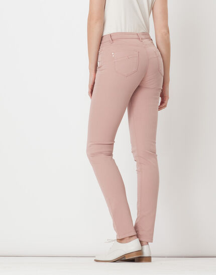 William powder pink satin trousers (4) - 1-2-3