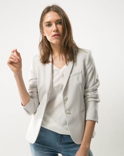 Eve grey suit tailored jacket (2) - 1-2-3