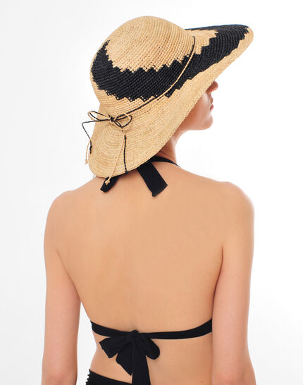 Johnny broad-brimmed straw hat (3) - 1-2-3
