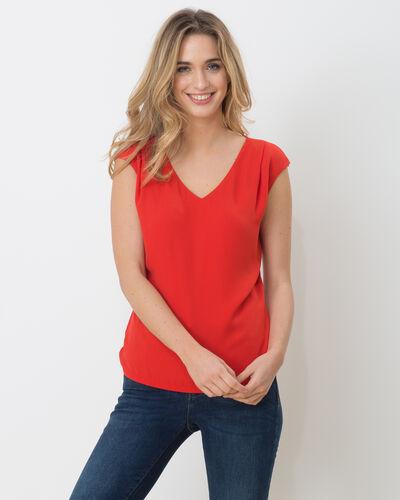 Tee-shirt rouge Neptune (1) - 1-2-3