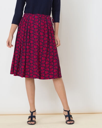 Danube leaf printed skirt (1) - 1-2-3