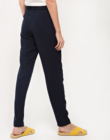 Douguy blue tapered trousers (4) - 1-2-3