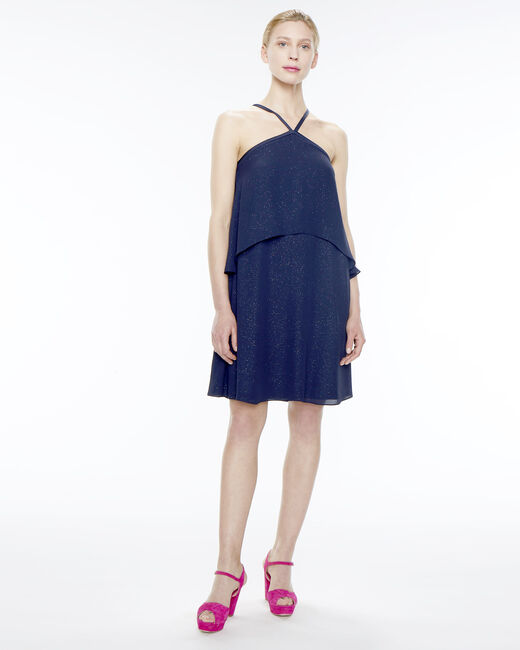 Felicia navy blue flouncy dress (1) - 1-2-3