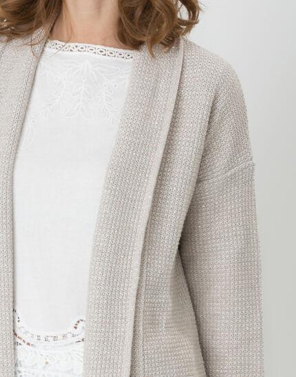 Hirise pale grey jacket-style cardigan (5) - 1-2-3