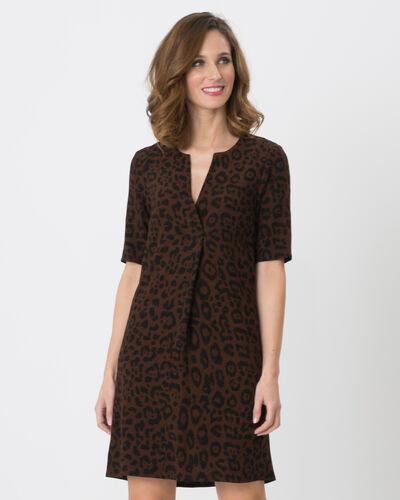 Robe imprimée animalier Betsy (2) - 1-2-3