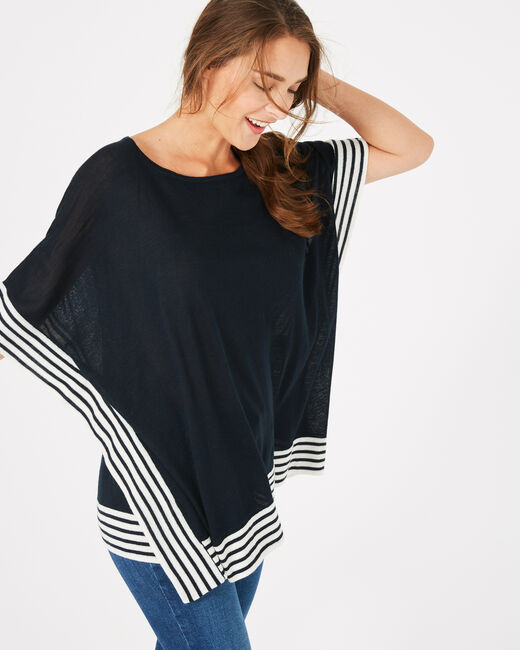 Paquebot navy blue cape (1) - 1-2-3