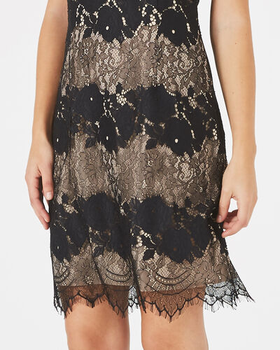 Francesca black lace dress (2) - 1-2-3