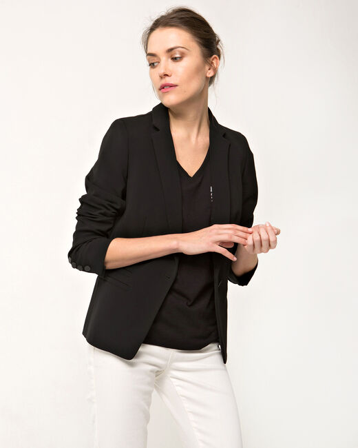 Akira black tailored jacket (2) - 1-2-3