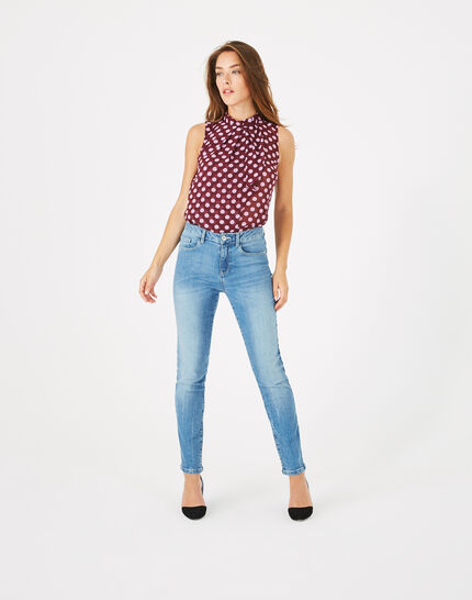 Oliver 7/8 length bleached jeans PhotoZ | 1-2-3