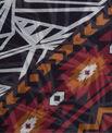 Susanna black printed scarf  PhotoZ | 1-2-3