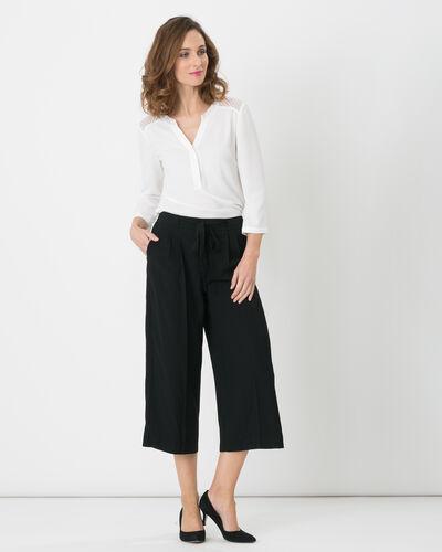 Jupe-culotte noire Dan (1) - 1-2-3