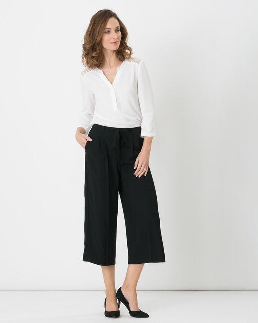 Jupe-culotte noire Dan (2) - 1-2-3