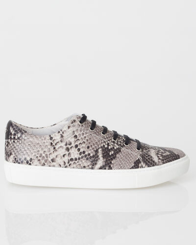 Jason animal print trainers in leather (2) - 1-2-3