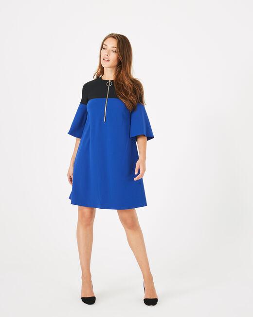 Zweifarbiges Kleid Alexia (1) - 1-2-3
