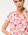 Bobby poppy printed linen dress (5) - 1-2-3