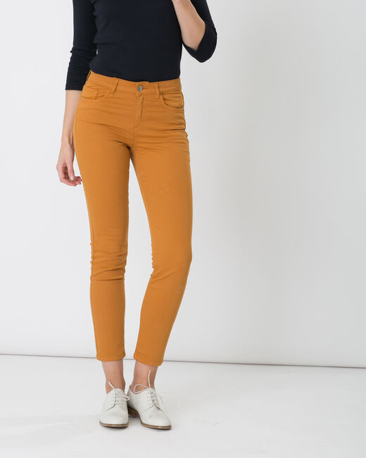 Oliver 7/8th length ochre trousers (2) - 1-2-3