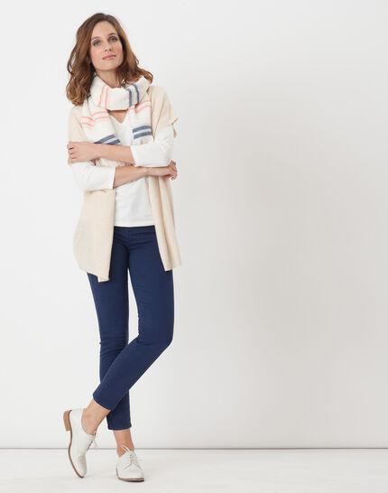 Himalaya beige cape-style cardigan (2) - 1-2-3