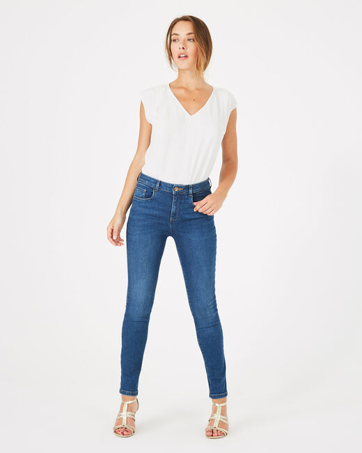 Indigoblaue 7/8-Washed-Jeans Oliver (1) - 1-2-3