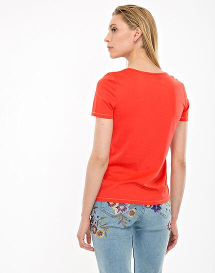 Tee-shirt orange Noon (6) - 1-2-3