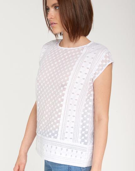 Ekta ecru embroidered shirt (3) - 1-2-3