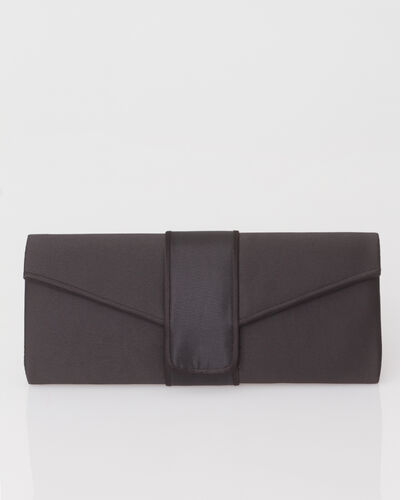 Tess black clutch bag (2) - 1-2-3