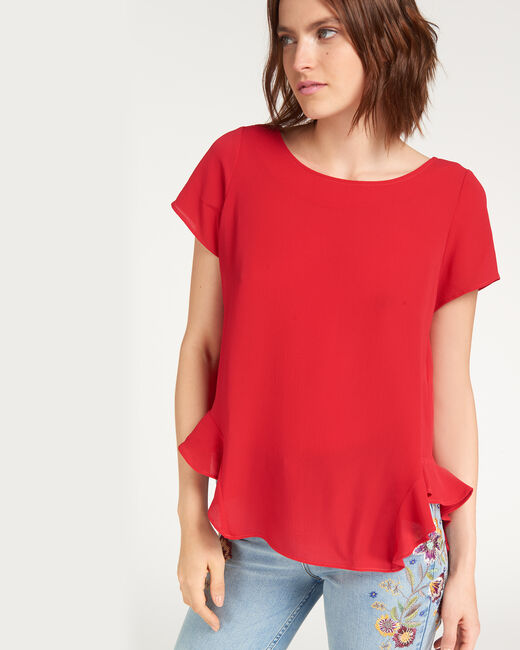 Blouse rouge Elvis (1) - 1-2-3