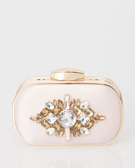 Palmyre powder pink clutch bag (2) - 1-2-3