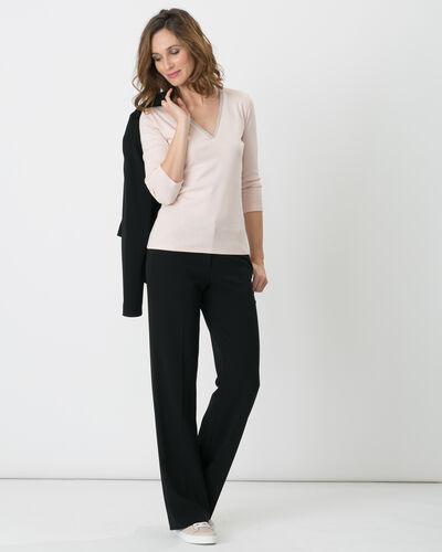 Pantalon de tailleur noir Pepin (1) - 1-2-3