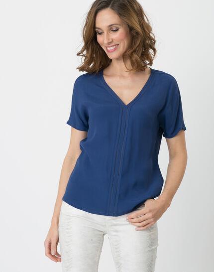 Edwige blue shirt PhotoZ | 1-2-3