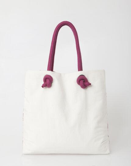 Pavel embroidered fuchsia bag (3) - 1-2-3