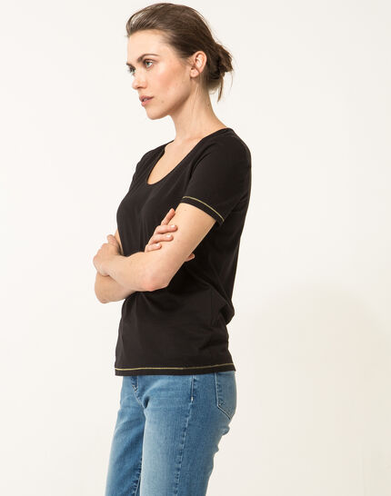 Noon black T-shirt (3) - 1-2-3