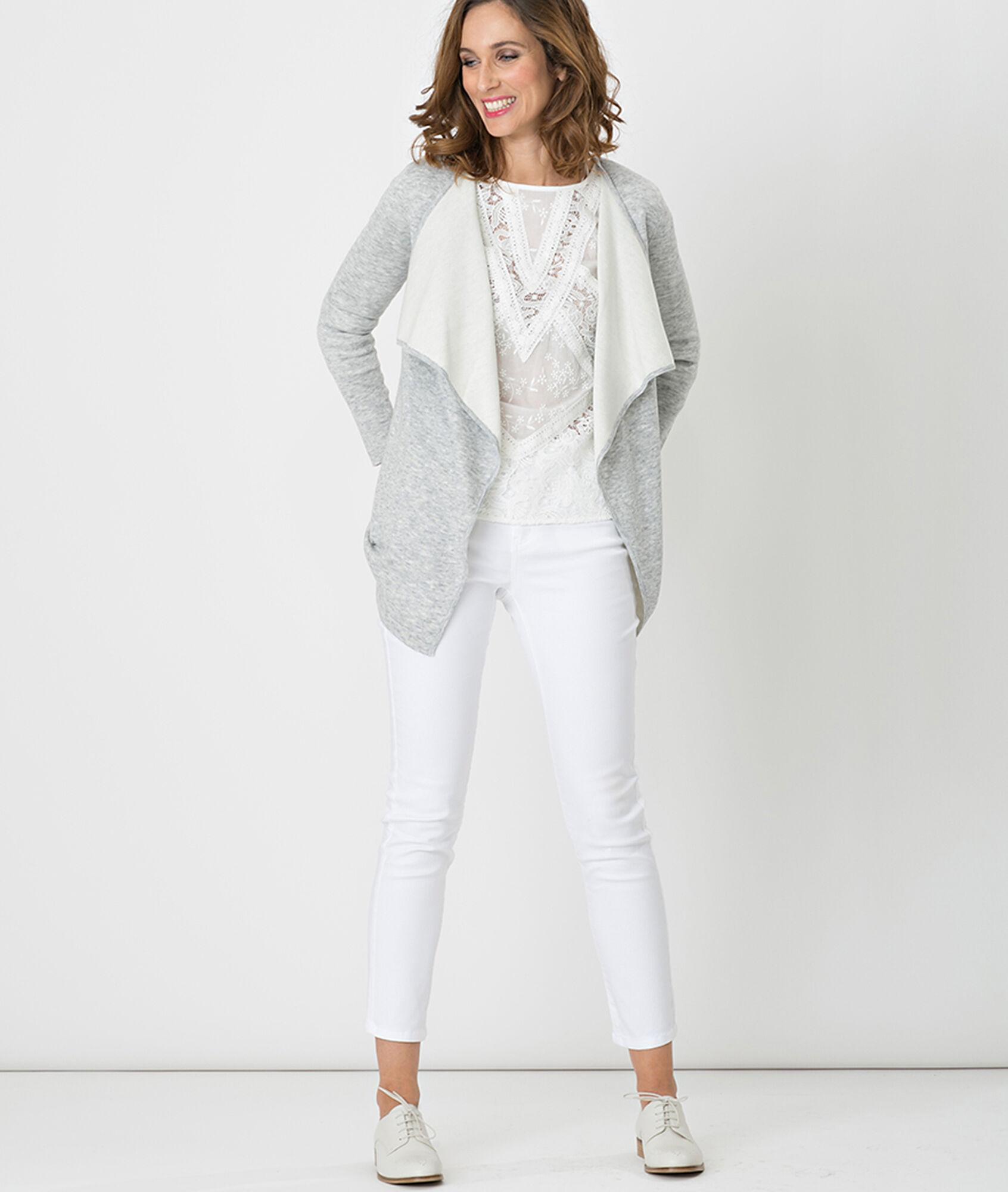 Blanc Pantalon 8 7 Blanc pantalon Nahal Pour Femme Ditla QoWrCBedx