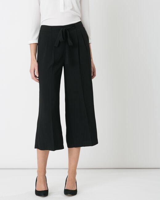 Dan black harem trousers (2) - 1-2-3