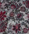 Salvia floral print scarf PhotoZ | 1-2-3