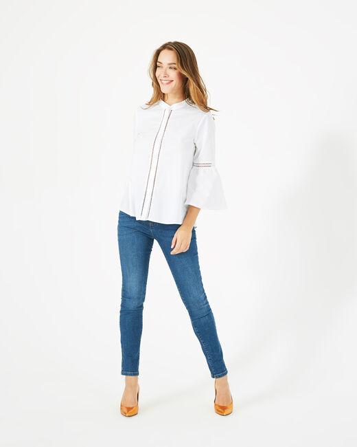 Dahlia ecru blouse (1) - 1-2-3