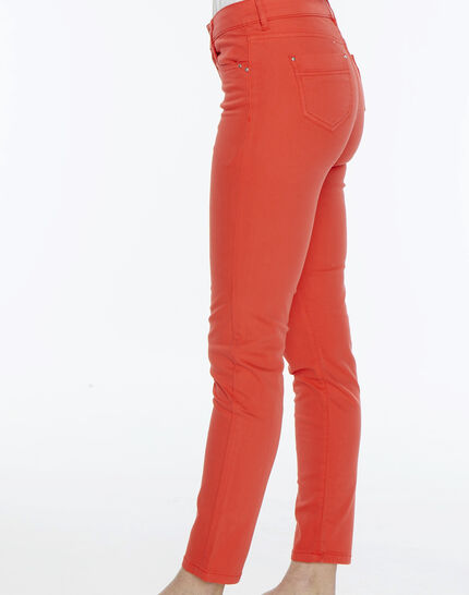 Oliver orange cropped trousers (3) - 1-2-3