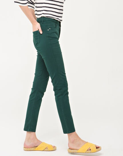 Oliver 7/8 length green trousers (3) - 1-2-3