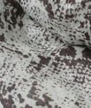 Fou scarf with snake print PhotoZ | 1-2-3