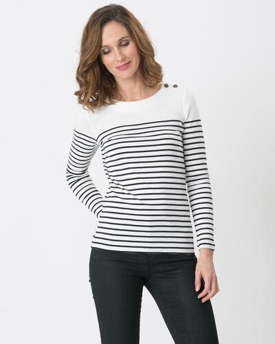 Naval striped navy blue T-shirt (1) - 1-2-3