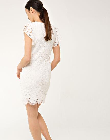 Faveur ecru guipure lace dress (3) - 1-2-3