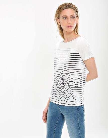 Tee-shirt rayé Nageuse (3) - 1-2-3