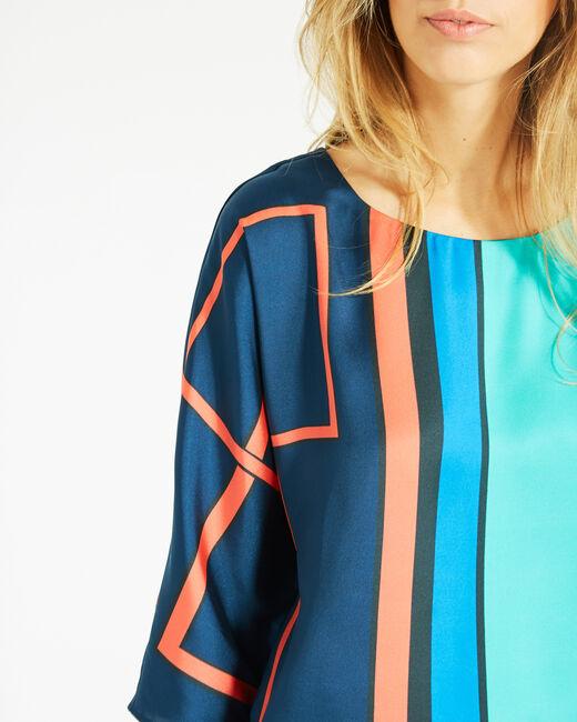 Enjoy bis graphic printed blouse (1) - 1-2-3