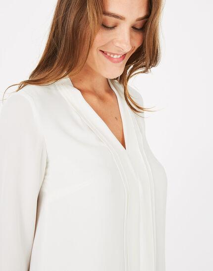 Elea ecru shirt (2) - 1-2-3