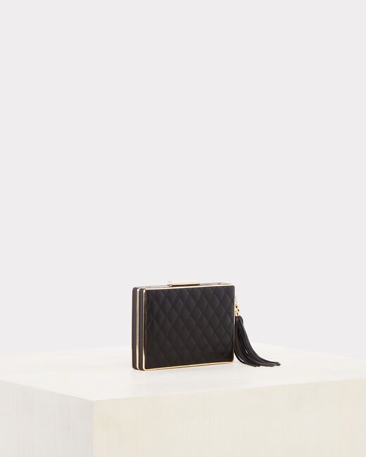 Rafaella black quilted clutch (2) - 1-2-3
