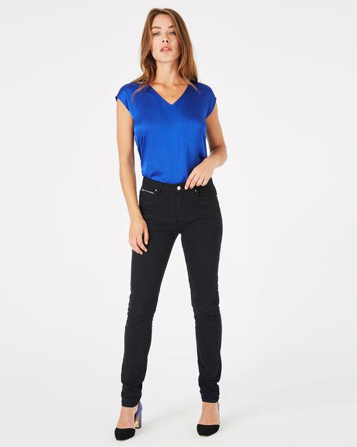 William black satin trousers (1) - 1-2-3