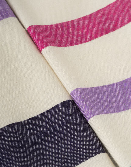 Samy graphic ecru scarf PhotoZ | 1-2-3