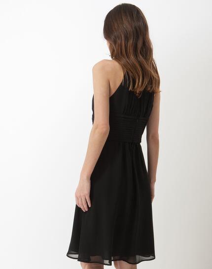 Scarlet bis black dress with Swarovski-embellished neckline (4) - 1-2-3