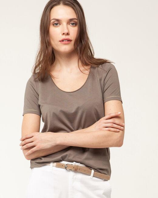 Tee-shirt kaki Noon (2) - 1-2-3